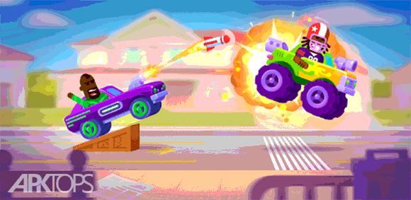 Racemasters - Сlash of Сars دانلود بازی اساتید مسابقه رقابت ماشین ها