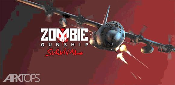 Zombie Gunship Survival دانلود بازی هواپیمای جنگی زامبی