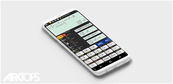 Calculator 570 EX 991 EX - Fraction Calculator دانلود برنامه ماشین حساب کسری حرفه ای