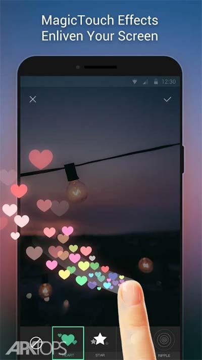 Apex Wallpaper – WhatsApp Wallpapers&&Touch Effect v1.5.0 دانلود بازی تصاویر پس زمینه با افکت های متحرک