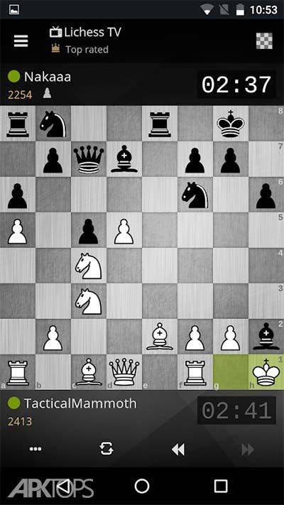 lichess • Free Online Chess v6.1.1 دانلود بازی لیچس شطرنج انلاین