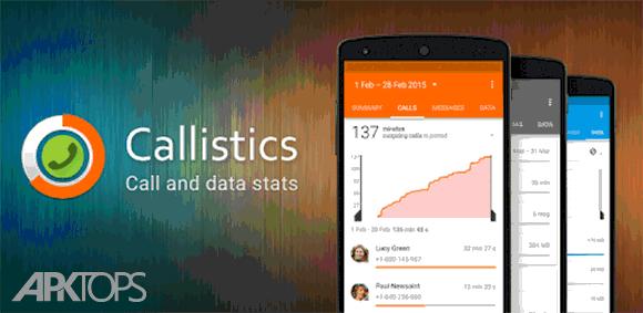 Callistics - Data usage, Calls دانلود برنامه امار مصرف دیتا و تماس ها
