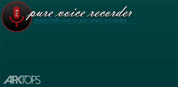 Pure Voice Recorder دانلود برنامه ضبط صدا