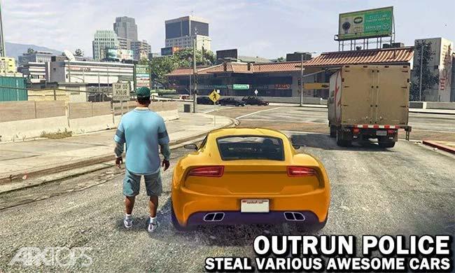Gangster Town Auto v2.3.2 دانلود بازی گنگستر شهر