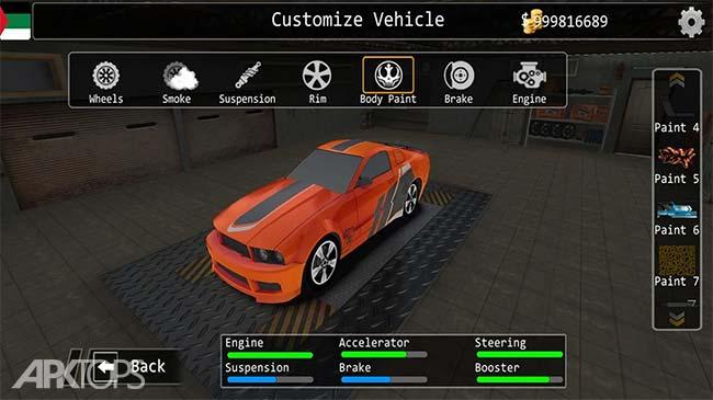 Furious Speed Drift Rivals v1.12 دانلود بازی مسابقات خشن دریفت