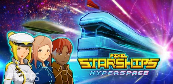 Pixel Starships ™: Hyperspace دانلود بازی سفینه فضایی پیکسلی