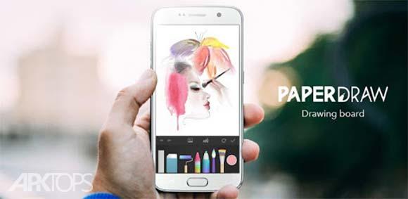 PaperColor : Paint Draw Sketchbook دانلود برنامه کاغذ طراحی و نقاشی