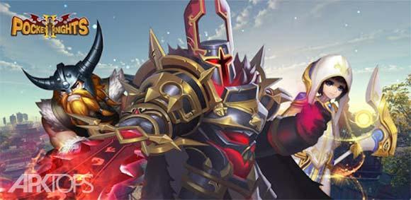 Pocket Knights 2 دانلود بازی شوالیه های کوچک2