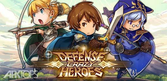 Crazy Defense Heroes دانلود بازی قهرمانان دفاع دیوانه وار