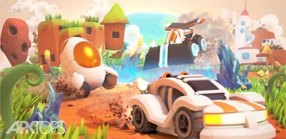 Krystal Kart AR دانلود بازی کریستال کارت