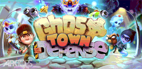 Ghost Town Defense دانلود بازی دفاع از شهر اشباح