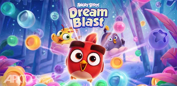Angry Birds Dream Blast دانلود بازی پرندگان خشمگین انفجار رویا