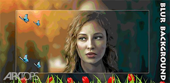 Blur Background-Photo Editor, DSLR Camera دانلود برنامه مات کردن پس زمینه تصویر