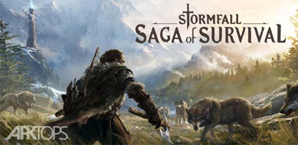 Stormfall: Saga of Survival دانلود بازی طوفان سقوط حماسه بقا
