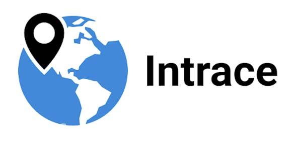Intrace: Visual Traceroute دانلود برنامه یافتن سرور داده های تبادل شده در برنامه ها