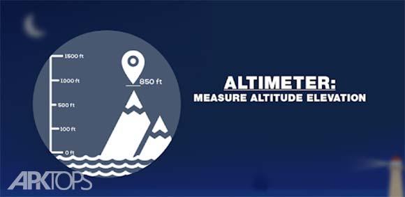 Altimeter : Measure Altitude & Elevation دانلود برنامه اندازه گیری ارتفاع