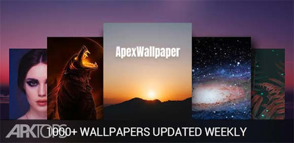 Apex Wallpaper - WhatsApp Wallpapers&Touch Effect دانلود بازی تصاویر و افکت لمس اپکس