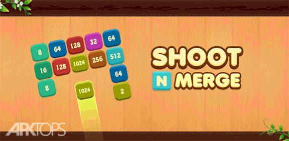 Shoot n Merge - Block puzzle دانلود بازی پرتاب و ترکیب