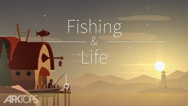Fishing Life v0.0.56 دانلود بازی زندگی ماهیگیری + مود