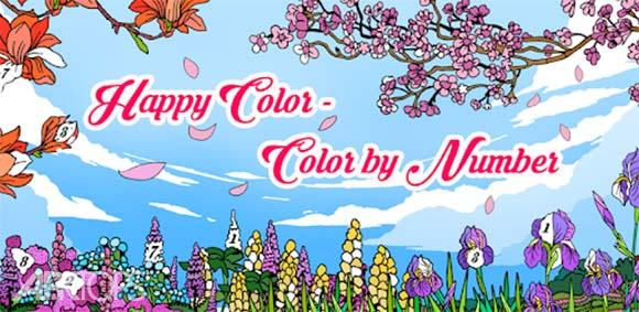 Happy Color – Color by Number دانلود بازی رنگ امیزی با رنگ های شاد