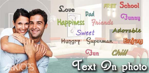 Text On Photo : Stylish Fonts دانلود برنامه نوشتن متن با فونت خاص روی تصاویر