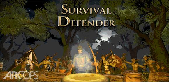 Survival Defender دانلود بازی زنده ماندن در دفاع