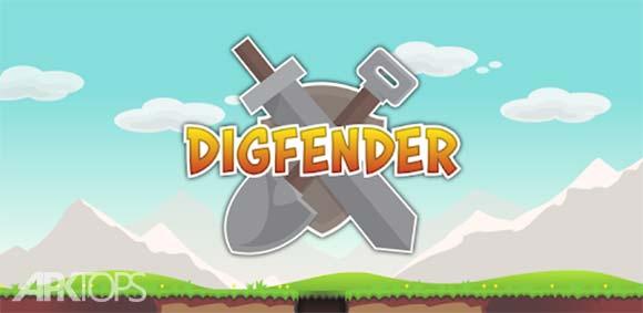 Digfender دانلود بازی حفاری و دفاع