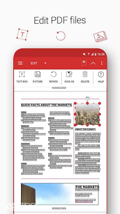 Quick PDF – Scan, Edit, View, Fill, Sign, Convert v6.2.768 دانلود برنامه اسکن و ویرایش پی دی اف