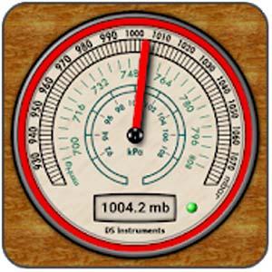 DS Barometer- Altimeter and Weather Information v3.71 دانلود برنامه فشار سنج ، ارتفاع سنج و هواشناسی