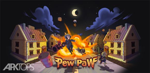 Pew Paw - Zombie survival دانلود بازی زنده ماندن در میان زامبی ها