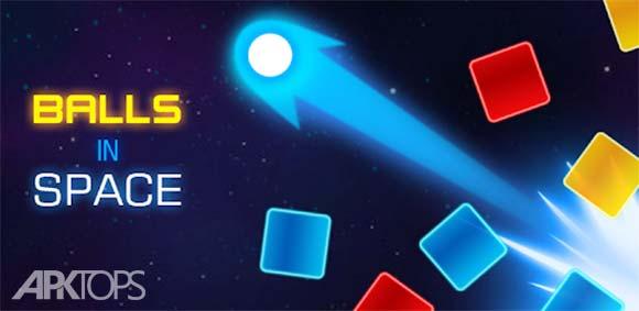 Balls in Space دانلود بازی توپ ها در فضا