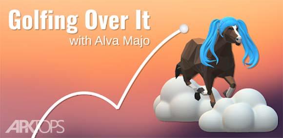 Golfing Over It with Alva Majo دانلود بازی حرکت توپ با الوا ماجو