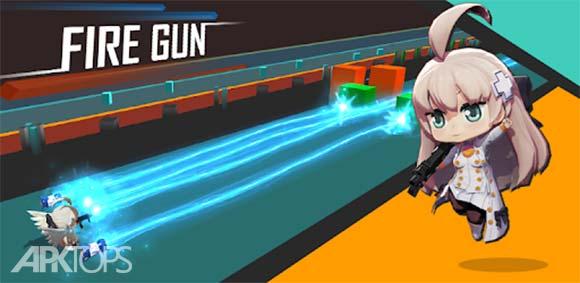 Fire Gun: Brick Breaker دانلود بازی شلیک اسلحه