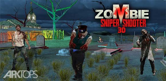 Zombie Sniper Shooting 3D دانلود بازی تک تیرانداز زامبی