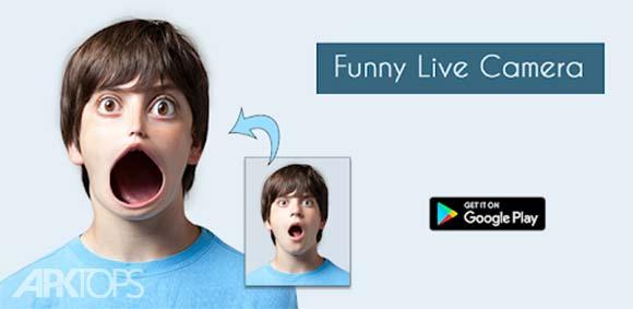 Funny Live Camera دانلود برنامه دوربین زنده ی بامزه