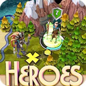 Heroes of Flatlandia v1.3.6 دانلود بازی قهرمانان فلتلندیا + مود