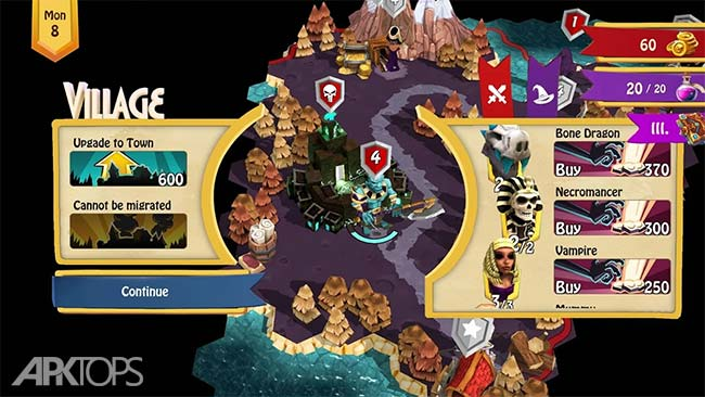 Heroes of Flatlandia v1.3.6 دانلود بازی قهرمانان فلتلندیا + مود اندروید
