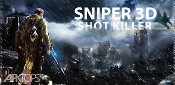 Sniper 3D Strike Assassin Ops – Gun Shooter Game دانلود بازی عملیات تک تیرانداز قاتل