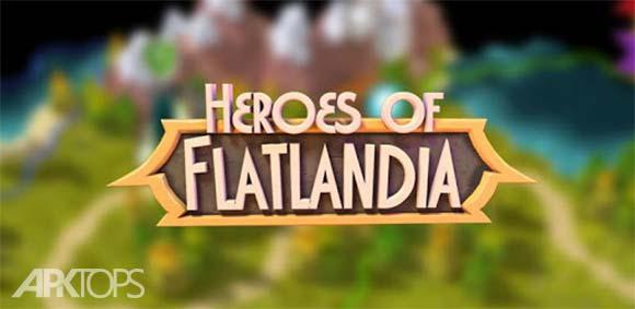 Heroes of Flatlandia دانلود بازی قهرمانان فلتلندیا