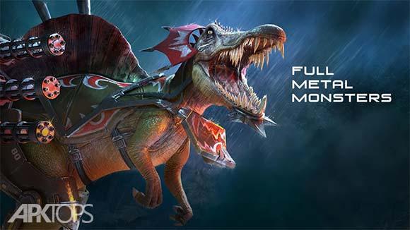 FULL METAL MONSTERS دانلود بازی هیولا های تمام آهنی