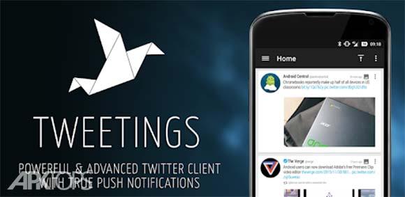 Tweetings for Twitter دانلود برنامه توئیتینگ برای توئیتر