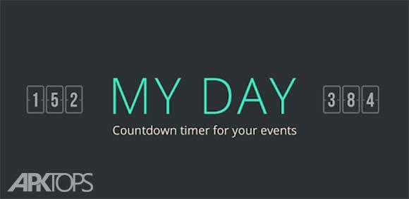 My Day - Countdown Calendar دانلود برنامه تقویم شمارش معکوس