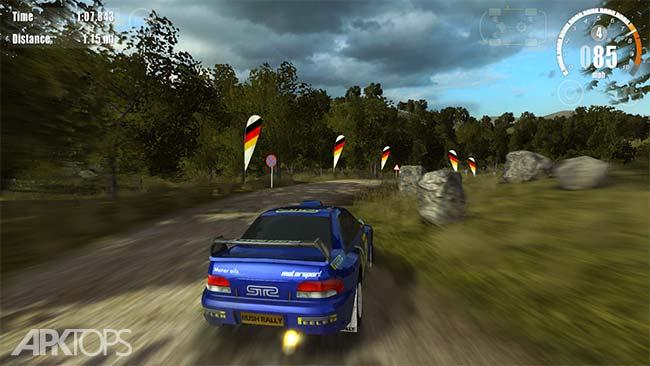 Rush Rally 3 v1.42 دانلود بازی مسابقه ای راش رالی3