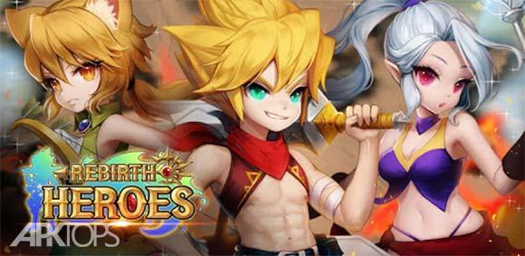 Rebirth Heroes: Idle RPG دانلود بازی تجدید حیات قهرمانان