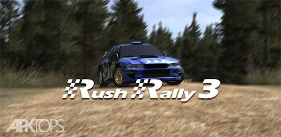 Rush Rally 3 دانلود بازی مسابقه سریع3