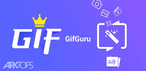GIF maker, GIF editor with text, GIF camera, emoji دانلود برنامه طراحی گیف