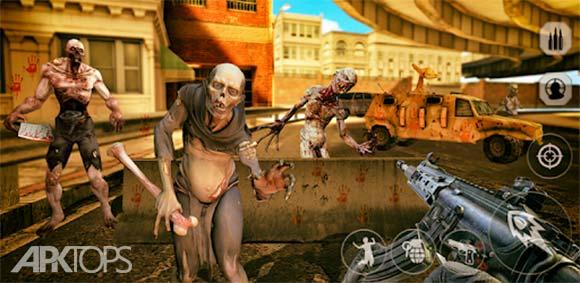 Zombie Hunter: War of the dead دانلود بازی شکارچی زامبی