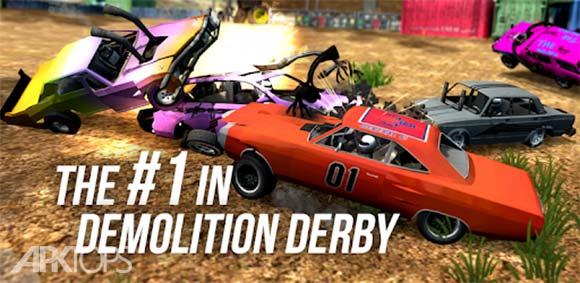 Demolition Derby Multiplayer دانلود بازی مسابقه تخریب