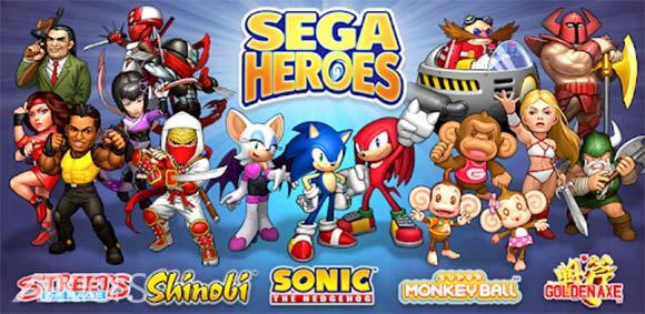 SEGA Heroes: Match-3 RPG Quest دانلود بازی قهرمانان سگا
