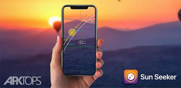 Sun Seeker - Sunrise Sunset Times Tracker, Compass دانلود برنامه جستجوی موقعیت خورشید